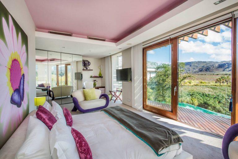 Levalux Lot Wine Estate Elgin Protea Bedroom