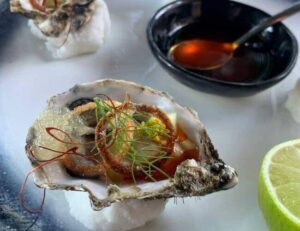 fine dining restaurant oysters south african food