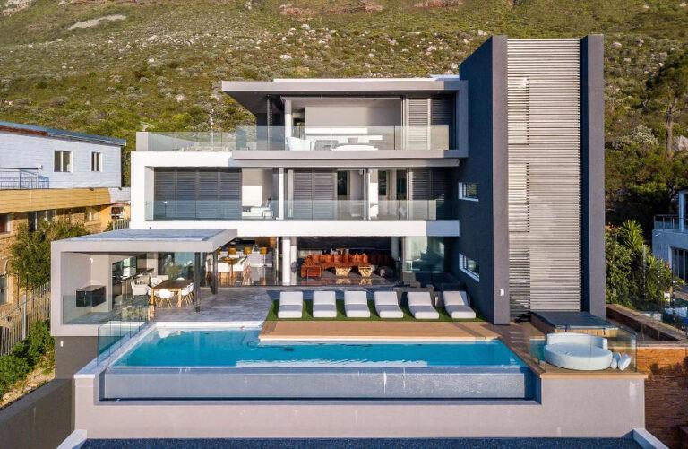 Levalux Villa Elanza Aerial Cape Town Camps Bay