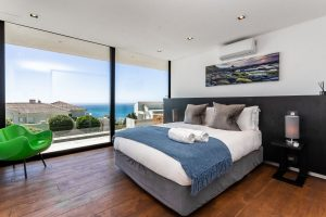 Ocean view from luxury suite in Camps Bay